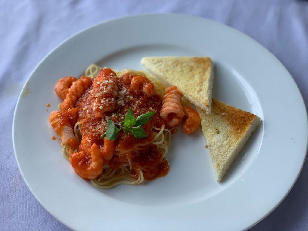シーフードスパゲティ